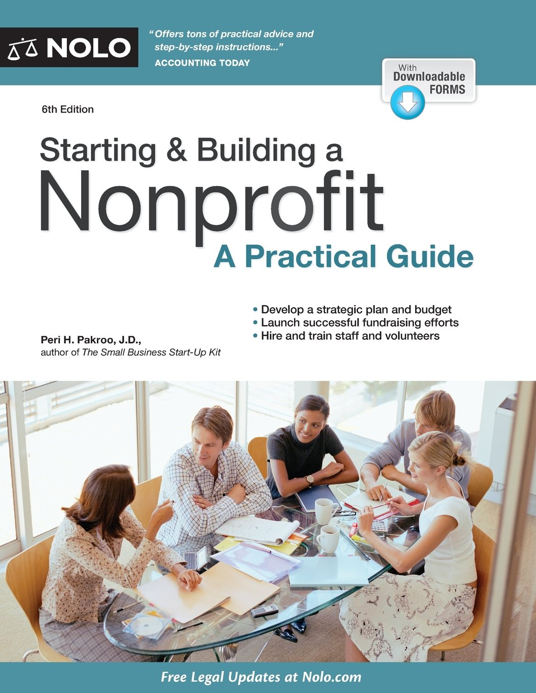 Starting Building A Nonprofit A Practical Guide Peri Pakroo Jd