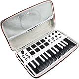 Hard Travel Case Bag for Akai Professional MPK Mini MKII | 25-Key USB MIDI Keyboard & Drum Pad Controller by AONKE