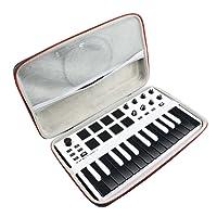 Hart Reise Fall Case Tasche für AKAI Professional MPK Mini MKII Portables 25 Tasten USB MIDI Keyboard von AONKE