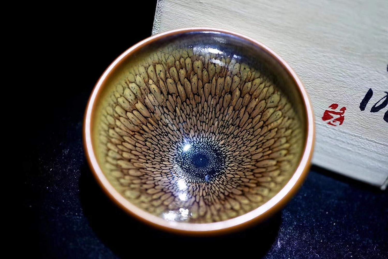 てんもく天目茶碗 宋王朝の公式窯元、有名な先生方による手作り、ロイヤルティーセット-淮南 B07PMN9YY3
