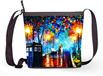 175e815bccc Fashion Casual and Popular Female Sling Bag Crossbody Bag Shoulder Bag with  Doctor Who Print