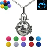 Amazon Price History for:Elephant Locket Necklace for Kids, for Children, for Girls, Glow in the Dark Beads, Animal, Pendant