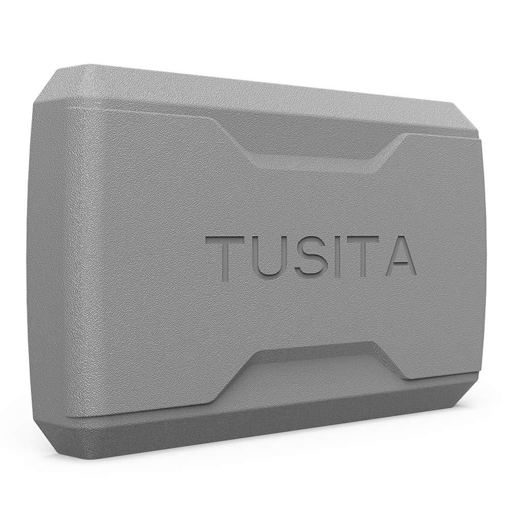 TUSITA Housse de protection avec Protecteurs d'écran pour Garmin Striker 5cv 5dv Plus 5cv, Fish Finder Accessoires de Remplacement Case en Silicone