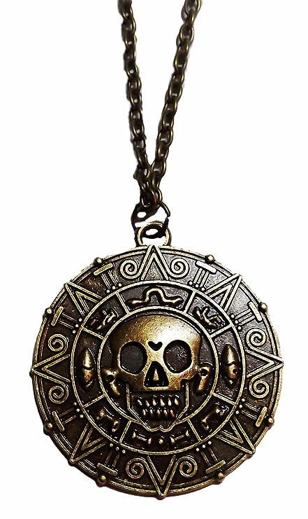 Amazon Pirates Of The Caribbean Jack Sparrow Aztec Coin Bronze