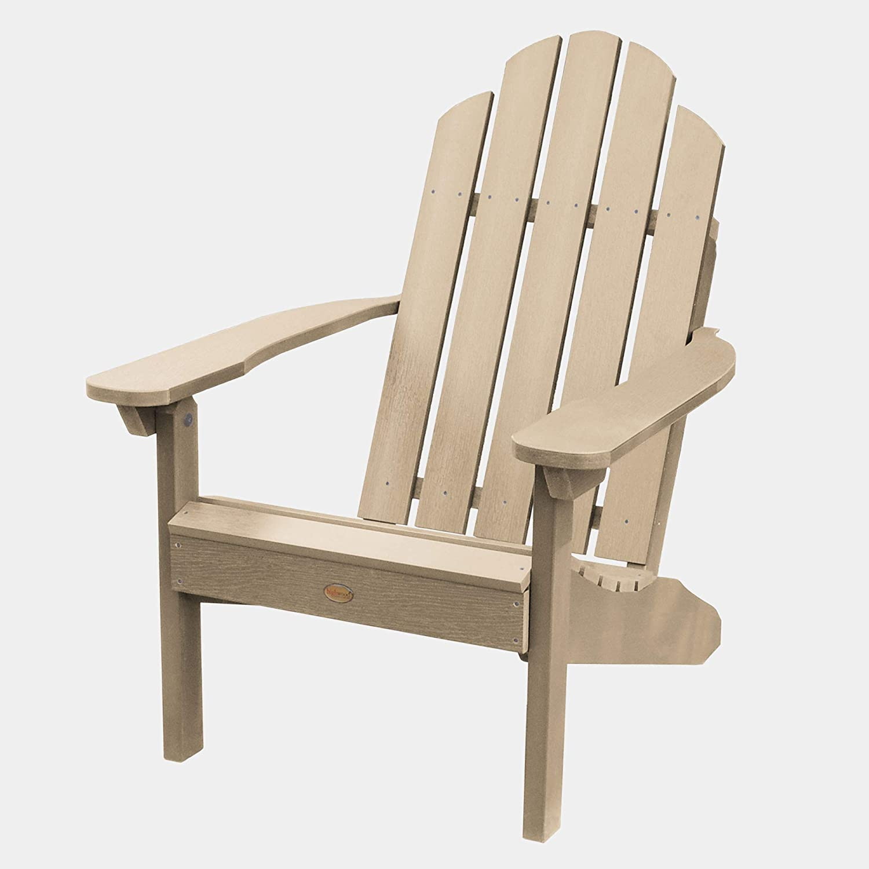 highwood AD-CLAS1-TAU Classic Westport Adirondack Chair, Tuscan Taupe