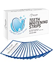 Teeth Whitening Strips(40Pcs),BESTOPE Tooth Whitener Kit with Professional Dental Treatment | Tooth Enamel Safe Non Slip Adhesive & Non Peroxide | Remove Stains,Fast Result & No Sensitivity