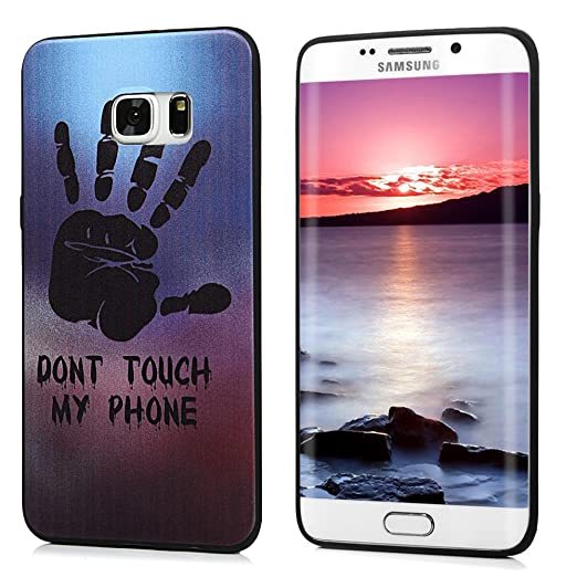 Funda S6 Edge Plus - Lanveni Chic Carcasa Suave TPU Gel ...