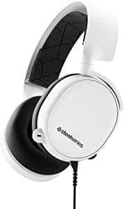 SteelSeries Arctis 3 (2019 Edition) All-Platform Gaming Headset for PC, PlayStation 4, Xbox One, Nintendo Switch, VR, Android, and iOS - White (PS4)