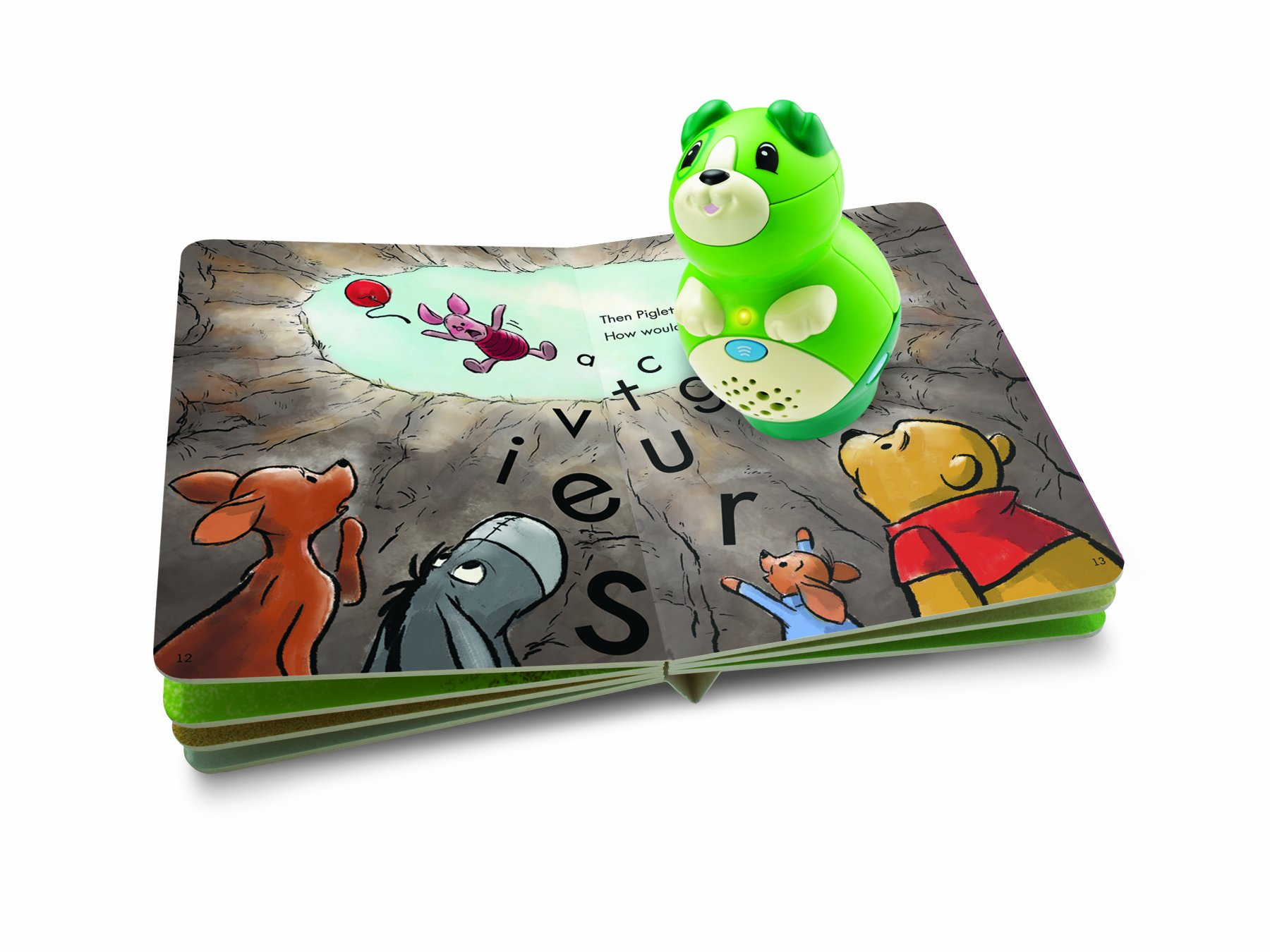 LeapFrog LeapReader Junior Book: Disney's Winnie the Pooh: Piglet Saves the Day (works with Tag Junior) by LeapFrog (Image #2)