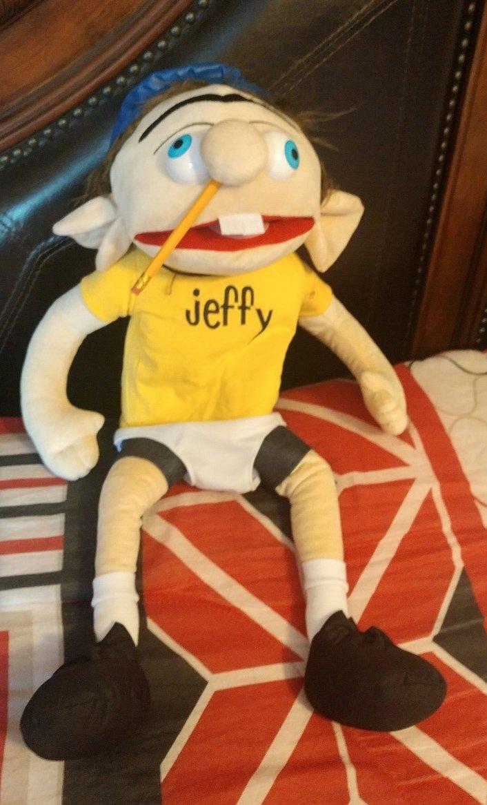 "jeffy Plush Puppet Large 24"""