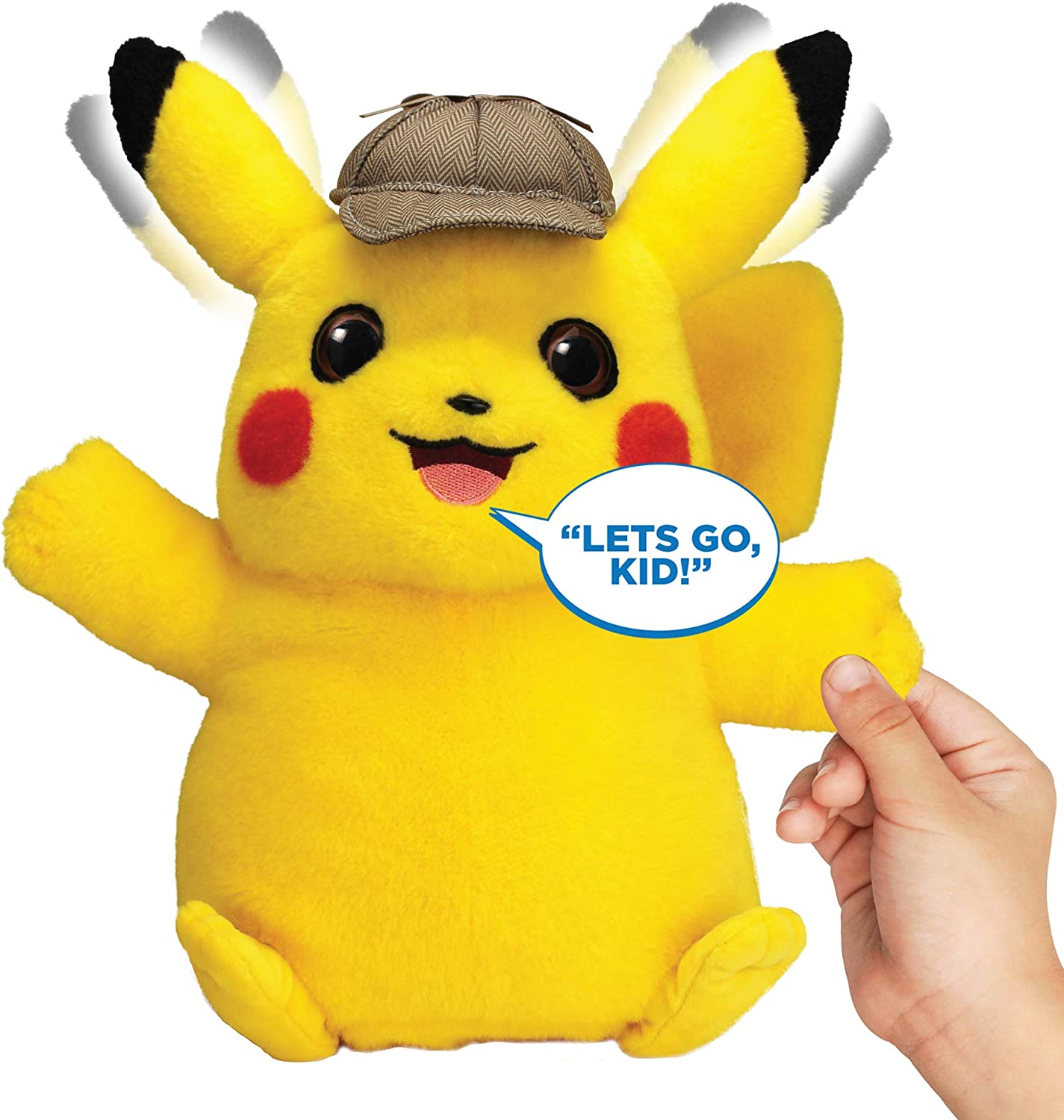 Amazon Com Pokemon Detective Pikachu Movie Interactive Talking