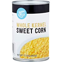 Amazon Brand - Happy Belly Whole Kernel Corn, 15 oz