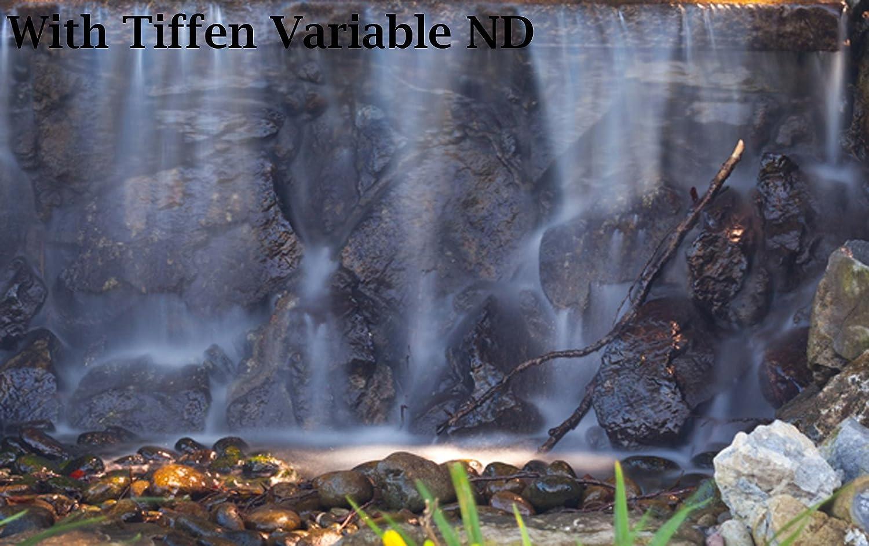 Tiffen 52mm Variable Neutral Density Camera Lens Filter-Gray