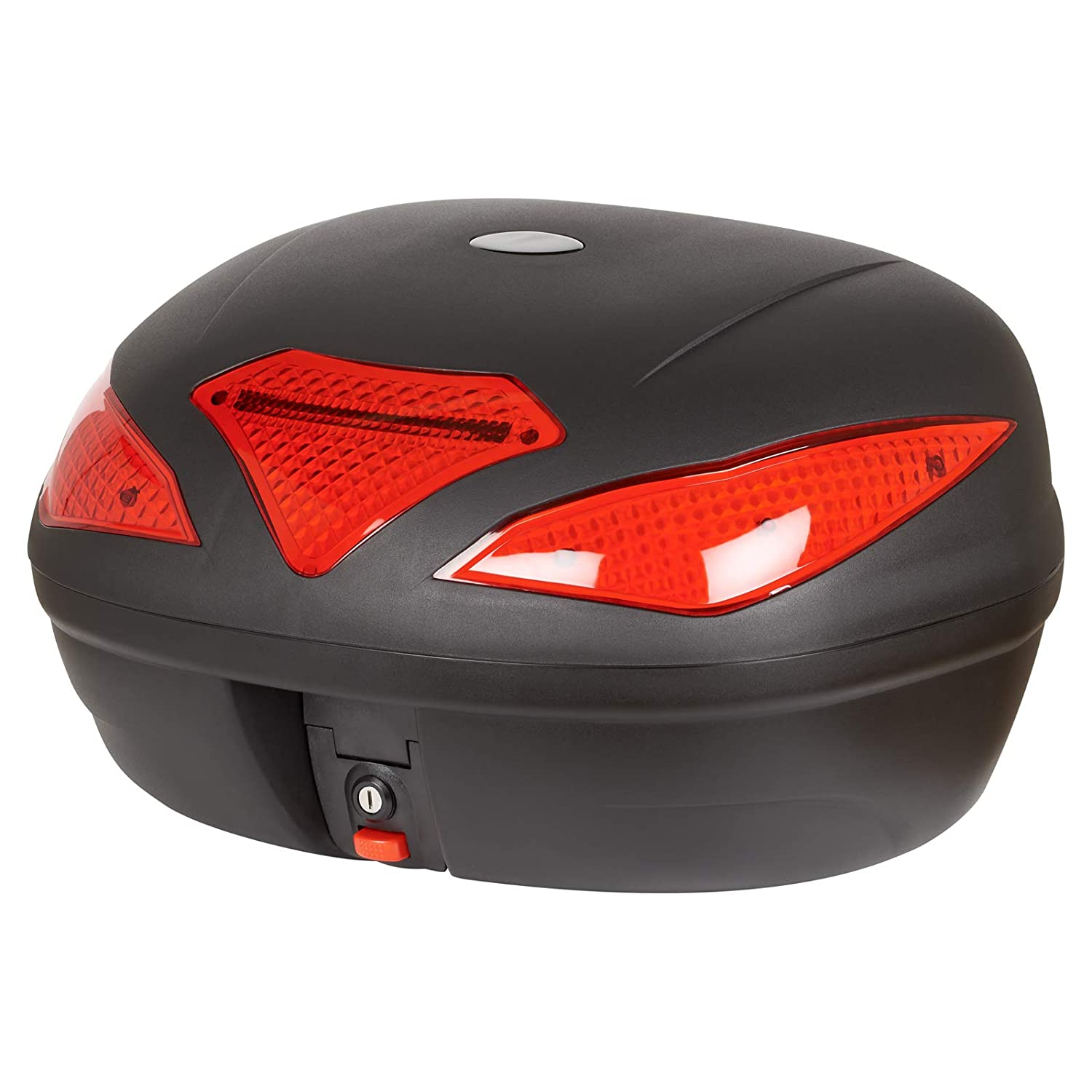 Ryde 43L Motorcycle Helmet Top Box with LED light