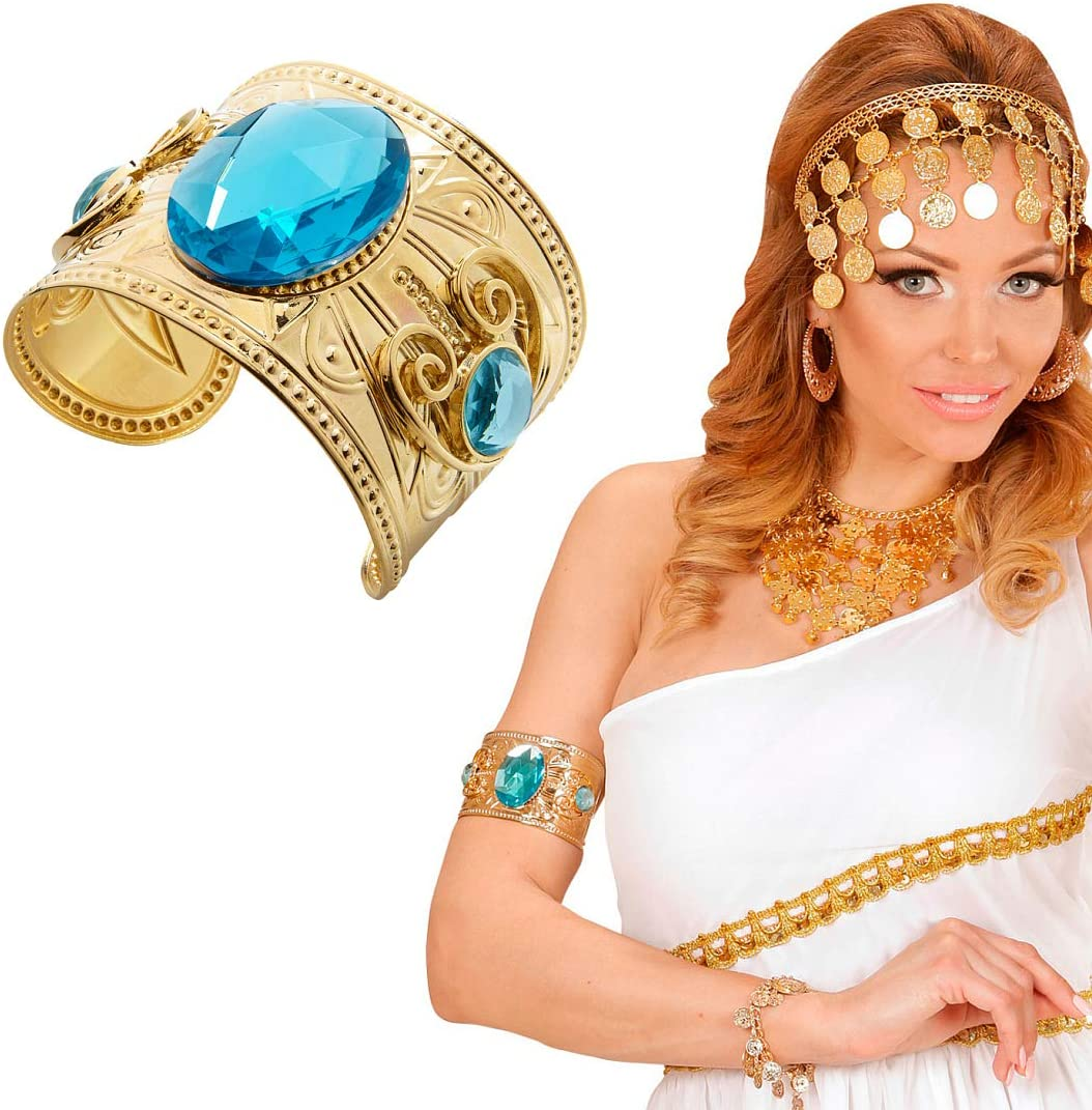 Schlangen Armreif Ägyptische Armspange gold Cleopatra Schlangenarmband Pharaonen