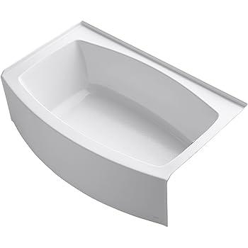 Kohler K 1100 Ra 0 Expanse Curved Integral Apron Bath With