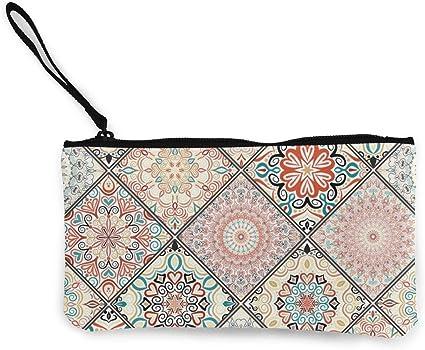 Boho Sac à main pièce de monnaie sacs ottoman Tapis Design fermeture éclair de stockage Sac à main ethnique bohème