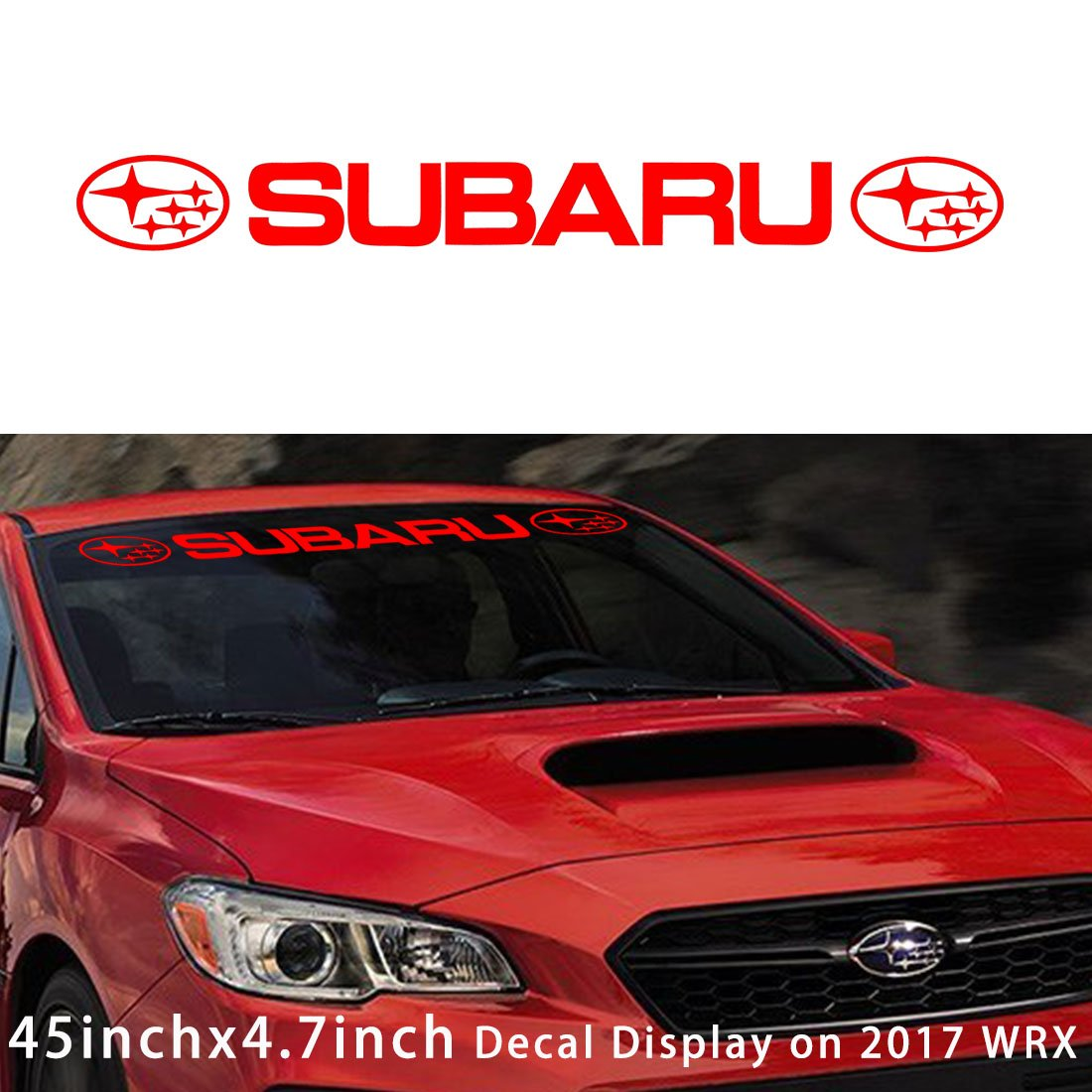 Kaizen auto windshield sticker banner decal vinyl rally window graphic wrx custom sti decal stripe sticker for subaru brz baja brat justy impreza forester