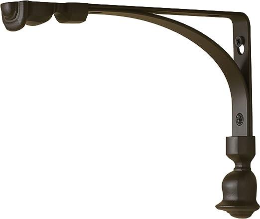 Amazon Com Rubbermaid 1877655 Decorative Shelf Bracket 6 By 8 Inch Tulip Bronze Home Kitchen