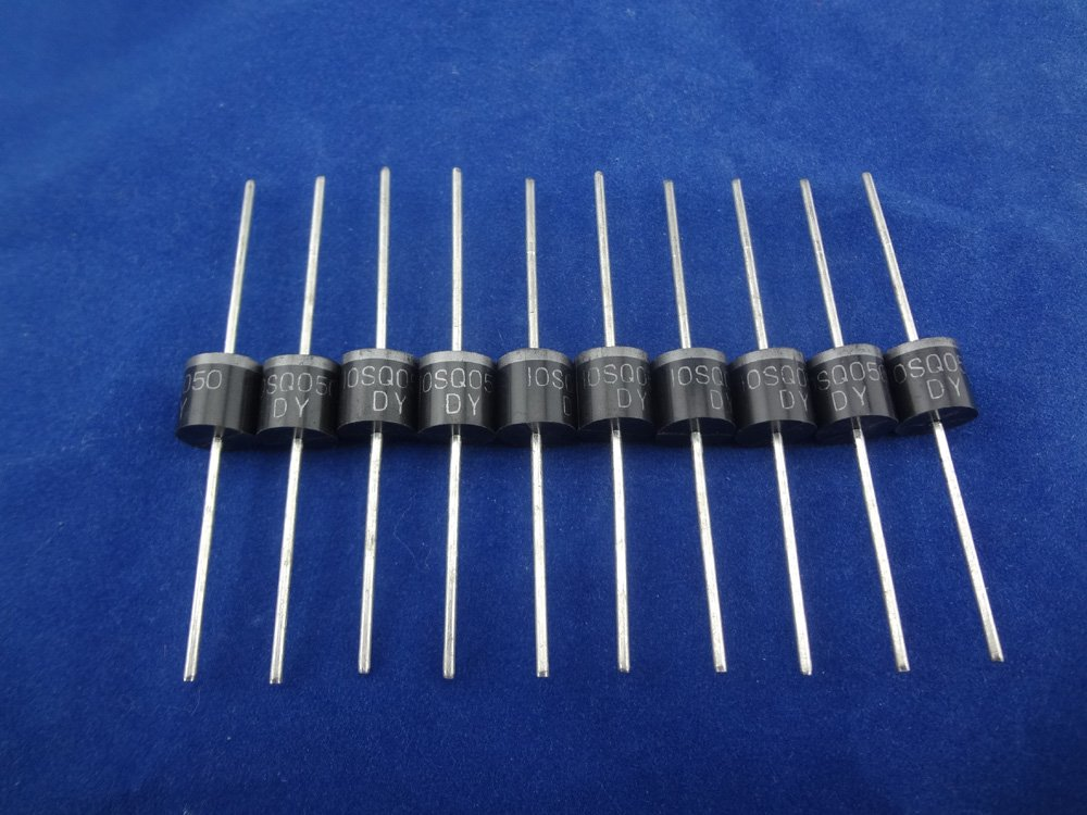 MISOL 300PCS-10A 50V Schottky Diode,SCHOTTKY BARRIER RECTIFIER,for solar panel DIY/Gleichrichter Schottky-Diode f¨¹r Solarpanel