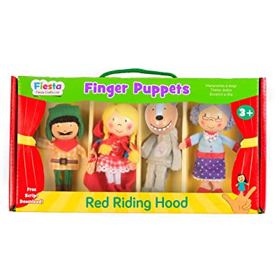 Tellatale Red Riding Hood Finger Puppet Set: Toys & Games