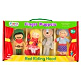 Tellatale Red Riding Hood Finger Puppet Set