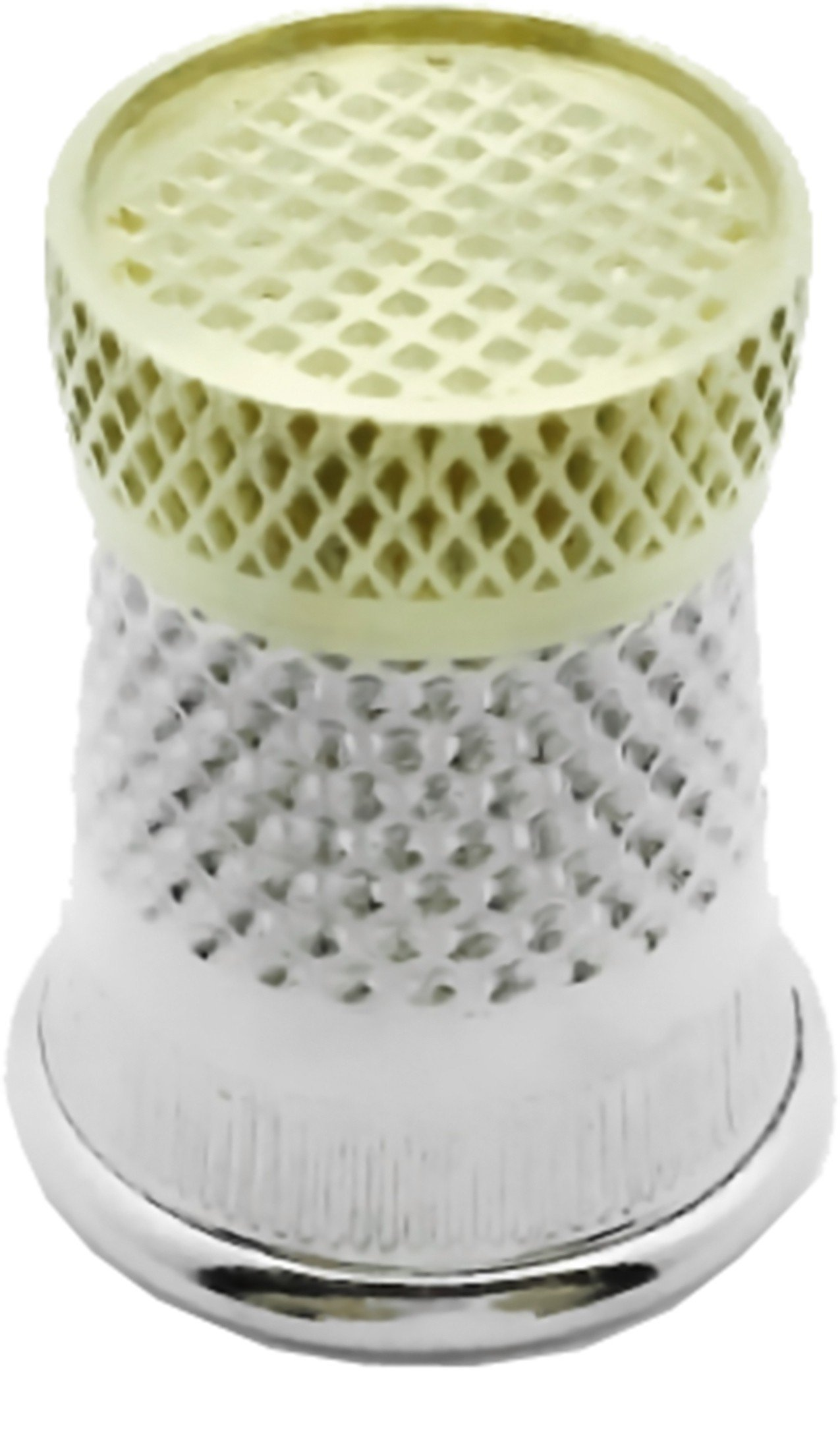 Colonial Needle SST-6 Raised Edge Thimble, Size 6 by Colonial Needle