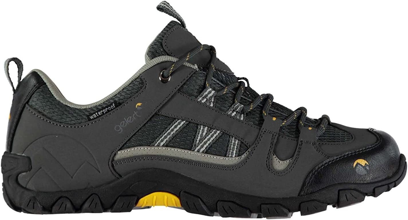 Gelert Mens Rocky Walking Shoes Non Waterproof Lace Up