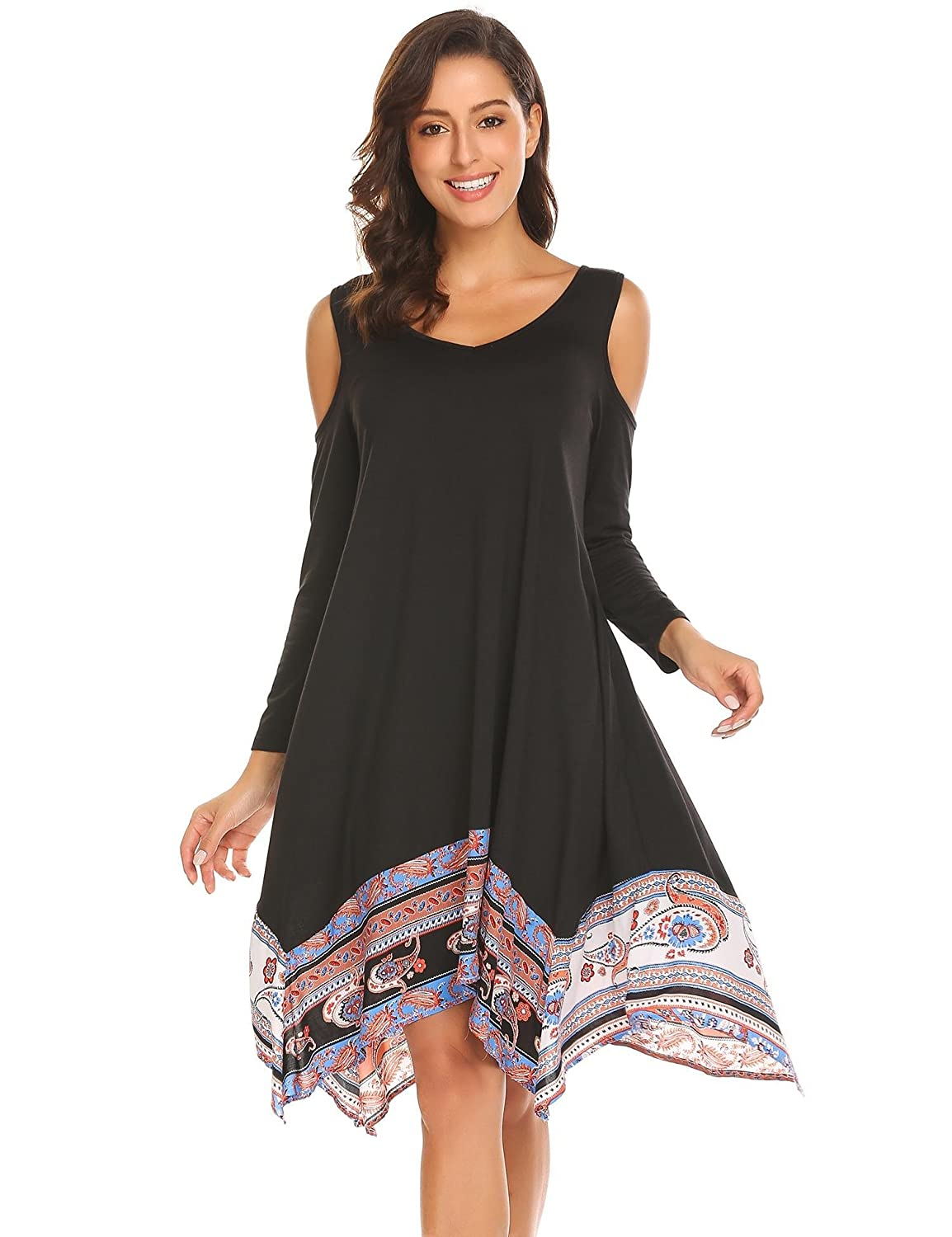 994e2193a9 Top 10 wholesale Boho Cold Shoulder Dress - Chinabrands.com
