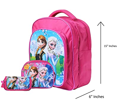 OKJI 14 Inches Stylish School Bag - Combo For Girls- Kids Back Pack combo  (Set Of 3) Age Group (2-5 yrs)  Amazon.in  Bags, Wallets   Luggage 9272916dad