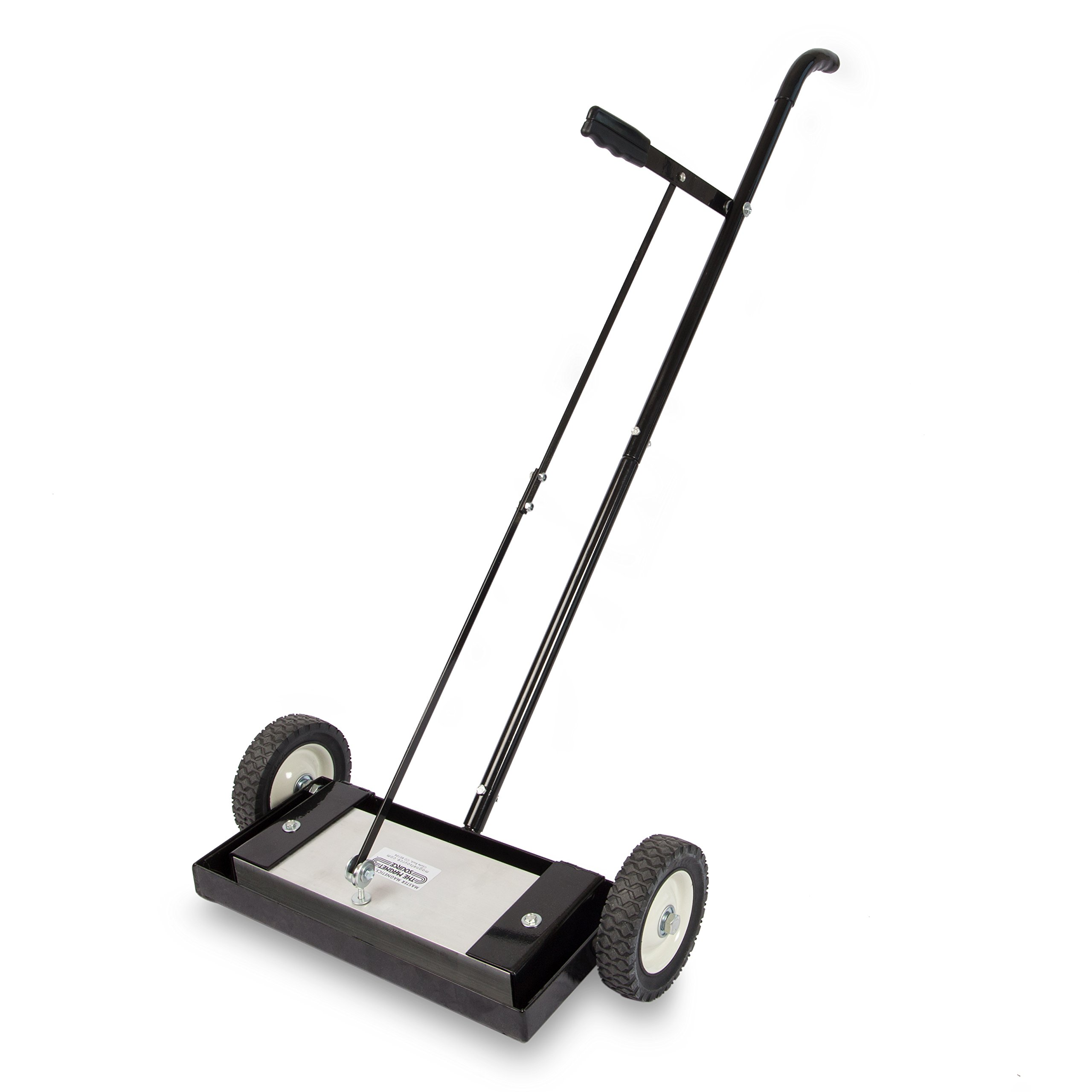 Magnet Sweeper Heavy Duty Push-Type with Release, 14'' Sweeping Width, 1 each, Part No. MFSM14RX