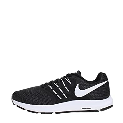 832dfcc9e43 Nike Men s Run Swift Running Shoe Black White Dark Grey Size 7. 5 M US   Amazon.in  Shoes   Handbags