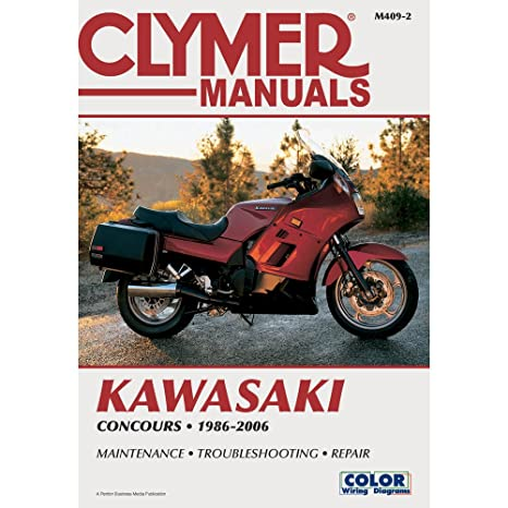 Amazon.com: Clymer Repair Manual For Kawasaki Concours ZG 1000 A 86 on kawasaki concours timing, kawasaki kz1000 wiring diagram, kawasaki concours carburetor, kawasaki concours forum, kawasaki concours maintenance schedule, kawasaki vulcan 750 wiring diagram, kawasaki concours controls, kawasaki concours tires, kawasaki concours seats, kawasaki concours spark plugs, kawasaki gpz1000rx wiring diagram, kawasaki concours exhaust, kawasaki vulcan 800 wiring diagram, kawasaki concours frame, kawasaki concours parts, kawasaki concours turn signals, kawasaki ke100 wiring diagram, kawasaki concours lights, kawasaki concours engine, kawasaki zrx wiring diagram,
