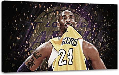 1 Canvas Painting Wall Art Kobe Bryant Basketball Player Home Decoration Poster