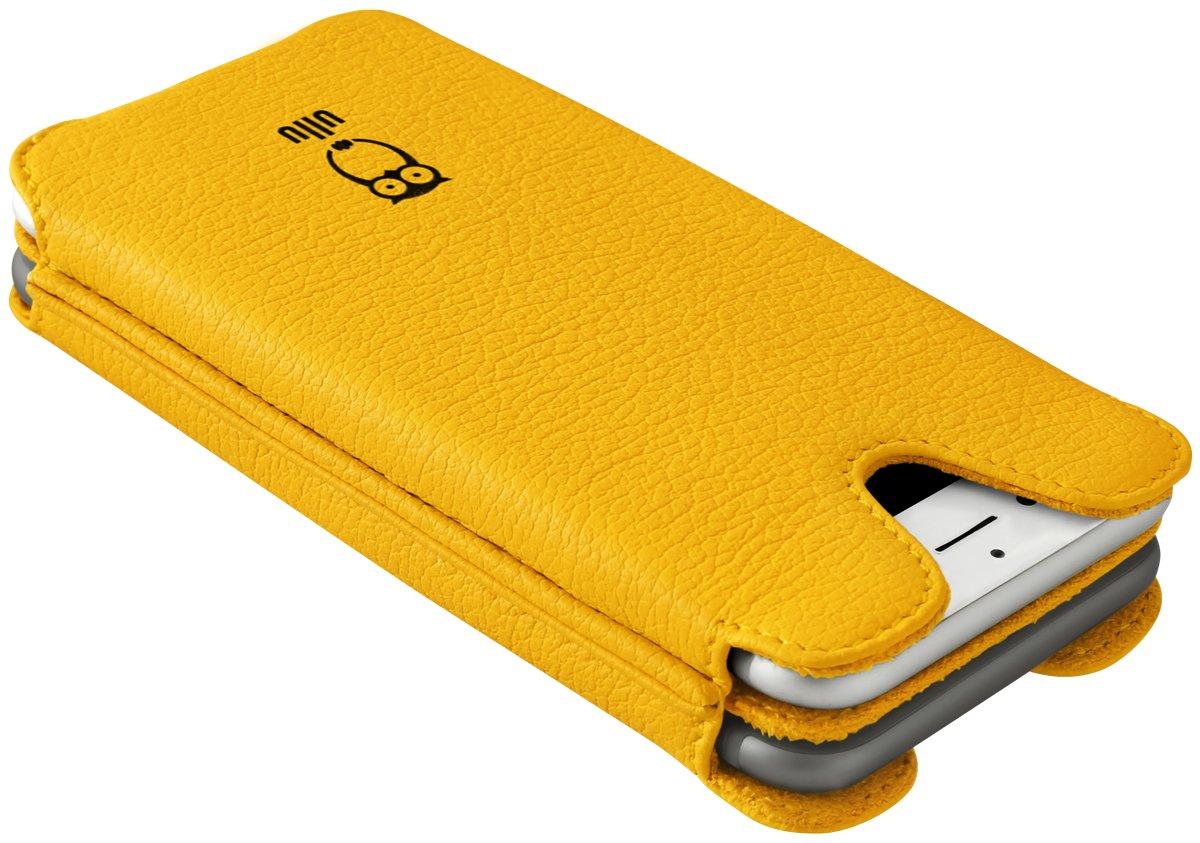 ullu Sleeve for iPhone 8 Plus/ 7 Plus - Sun Ray Yellow UDUO7PPL14 by ullu (Image #3)