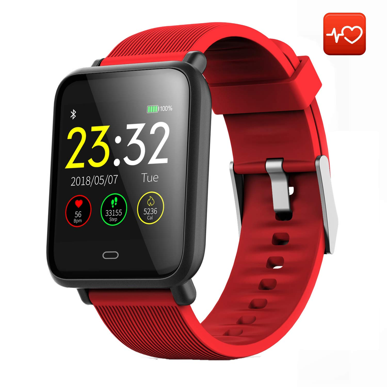 497b8f73c4c0 CanMixs Smart Watch CM07 Impermeable IP67 Actividad Fitness Tracker Reloj  con monitor de ritmo cardíaco Podómetro