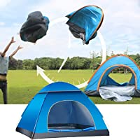LHLHO 2 Person Instant Pop Up Lightweight Camping Tent, Outdoor Easy Set Up Automatic Family Travel Tent,Portable…