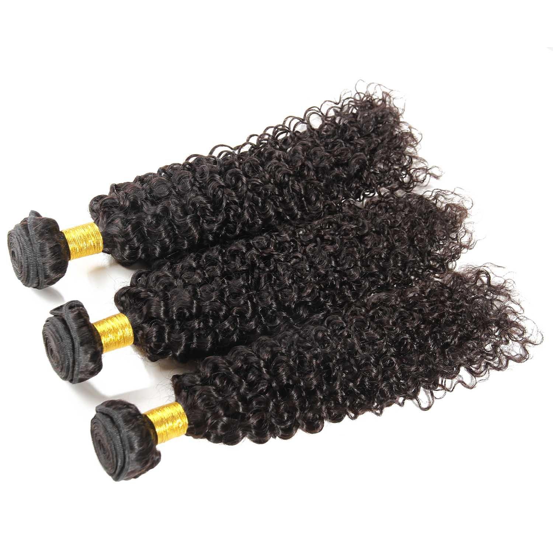 Amazon Indian Curly Hair 3 Bundles Jerry Curl Human Hair