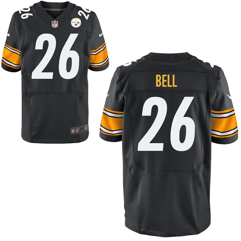 Nike le 'veon BellピッツバーグスティーラーズブラックElite Authentic On - Field Jersey – Men 's 48 (XL)