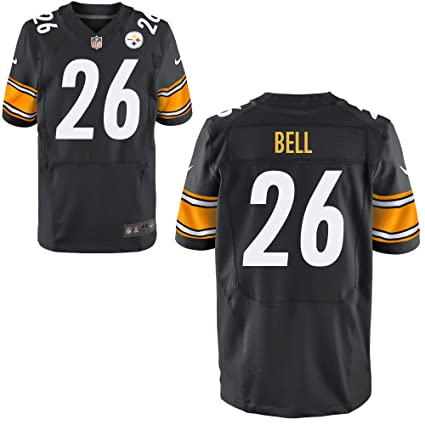 f4e2d1d77f4 Image Unavailable. Image not available for. Color: Nike Le'Veon Bell  Pittsburgh Steelers Black Elite Authentic On-Field Jersey - Men's