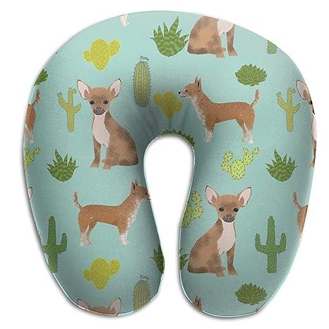 Amazon.com: JDIOSH Chihuahua Mint Cactus Dog Comfortable U ...