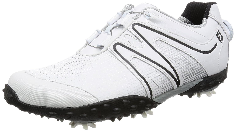 [フットジョイ]  ゴルフシューズ  エム:プロジェクト Boa 55112J B01M1GJRU9 25.0 cm ホワイト/ブラック2017モデル