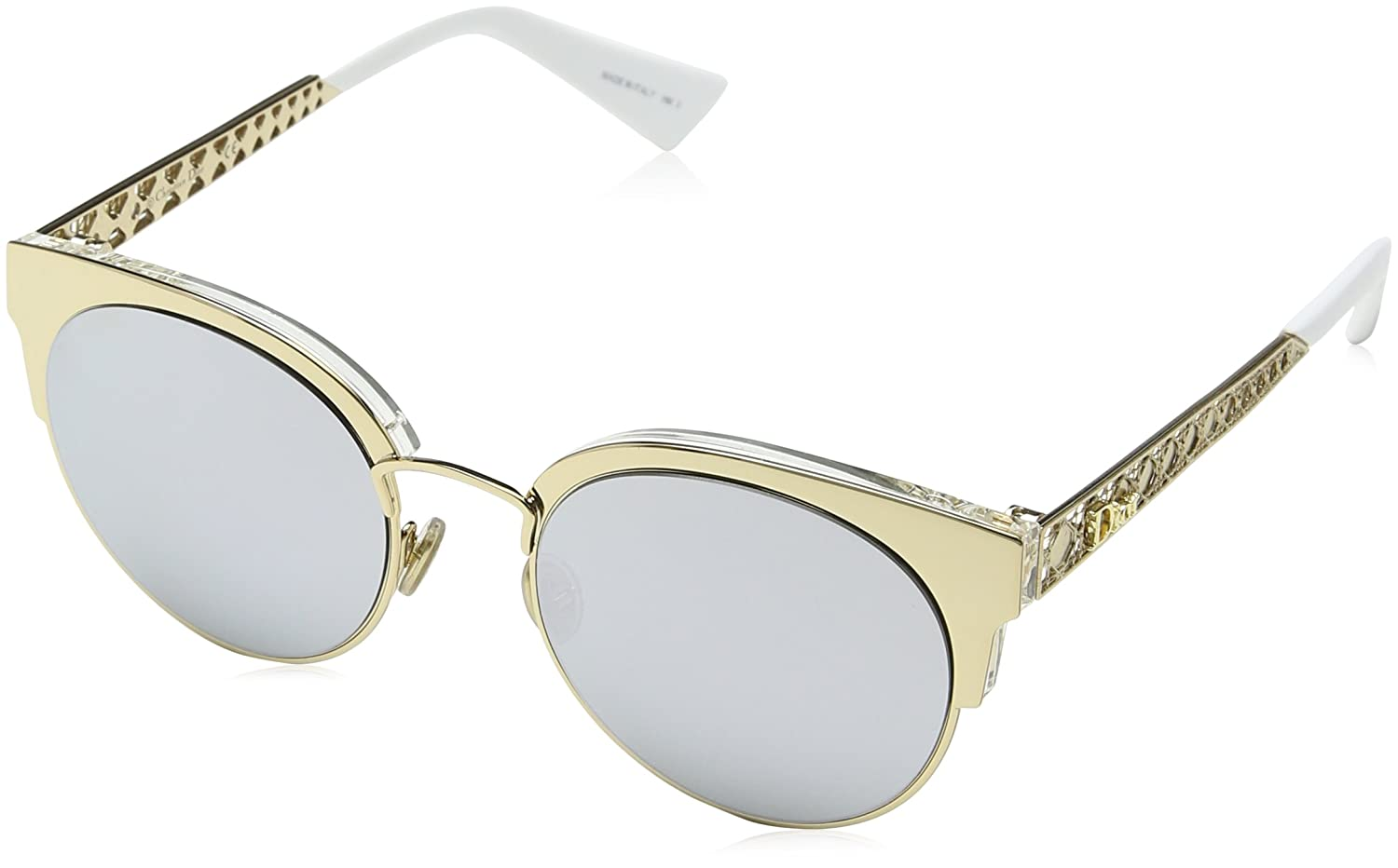 6f42c22467 Dior DIORAMA MINI GOLD GREY SILVER women Sunglasses  Amazon.ca  Clothing    Accessories