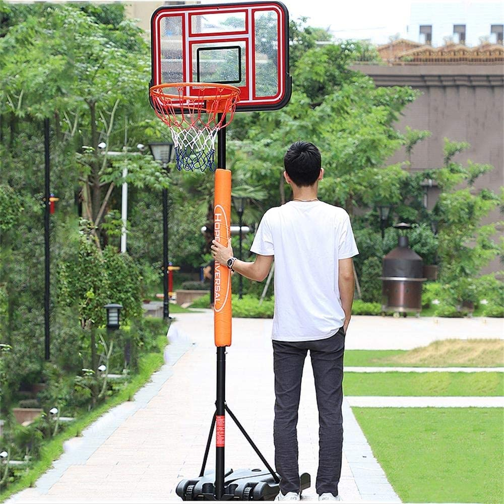 SUON Basketball Stand Height Adjustable 205-250cm Child Adult With Pulley Basketball Rack Indoor Outdoor Basketball Hoop