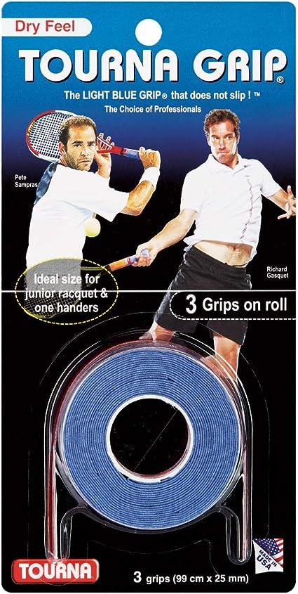 Amazon Com Tourna Grip Agarre De Tenis Sensación Seca Original Sports Outdoors