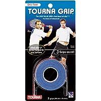 Tourna Grip - Grip para Tenis, Azul, 3 Pack Blue