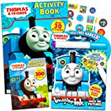Thomas the Train Imagine Ink Book and Sticker Book Set (2 Books and Mess Free Marker)