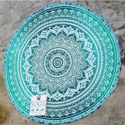 Cotton Beach Throw Blanket Indian Mandala Tapestry Bohemian ...