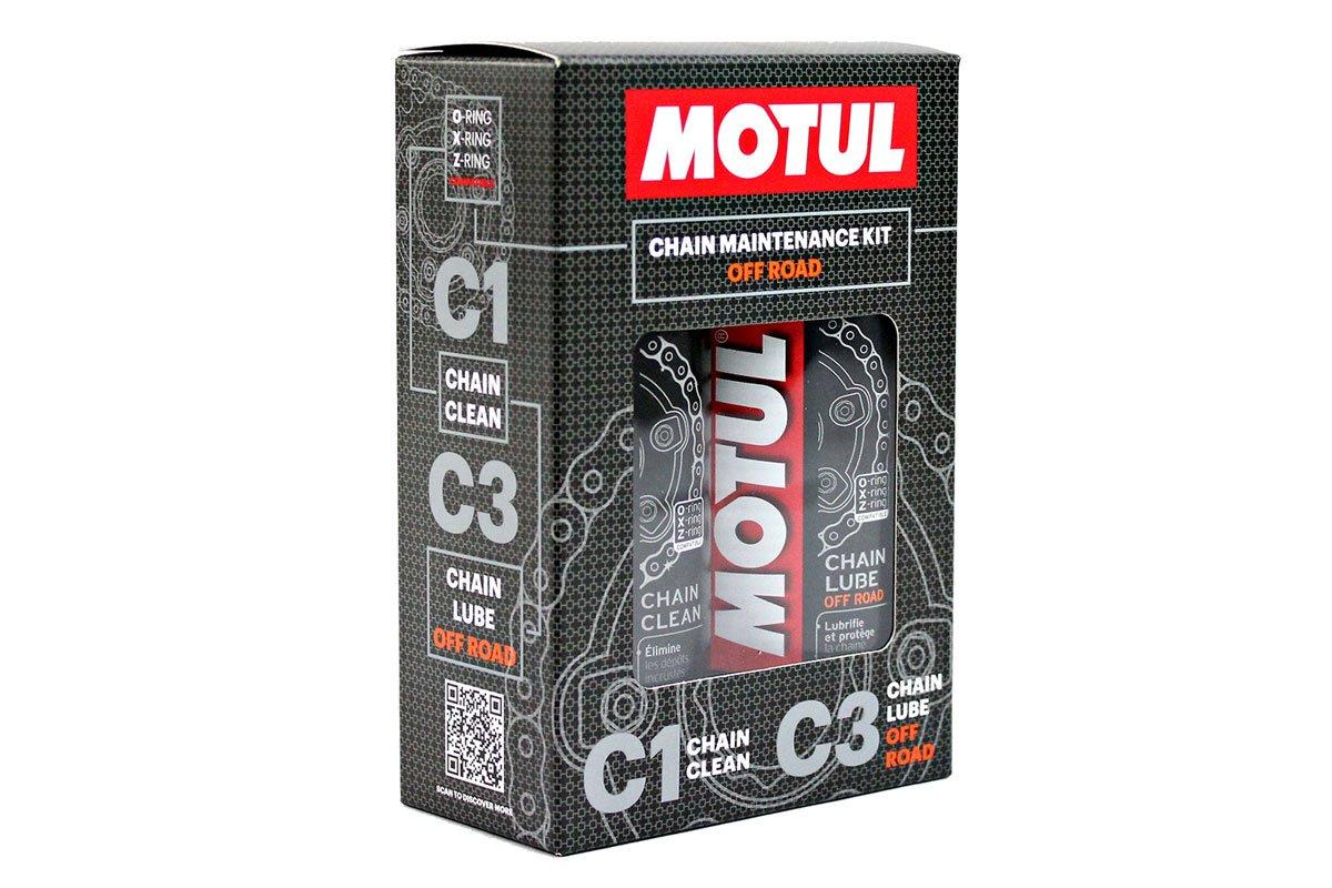 Pack + Económico MOTUL MC Care Spray Lubricante Cadena (C3) y limpiador de cadena (C1) motos de carretera.: Amazon.es: Coche y moto