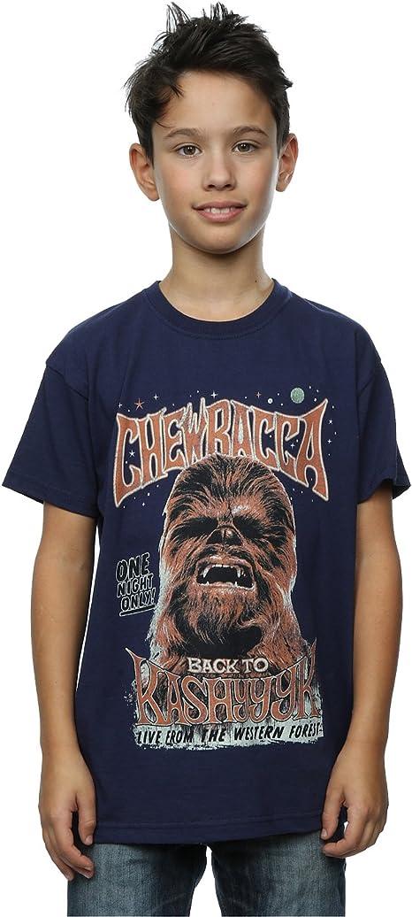 Star Wars New Chewbacca Rock Poster T-Shirt